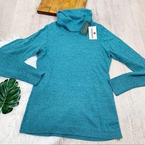 Woolrich Blue Long Sleeve Turtleneck Sweater 3095